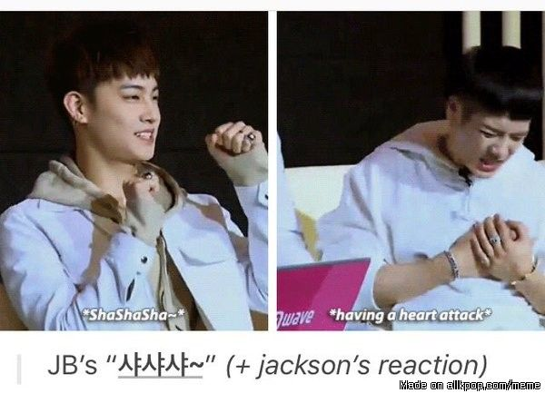 Jackson is all of us! #Got7