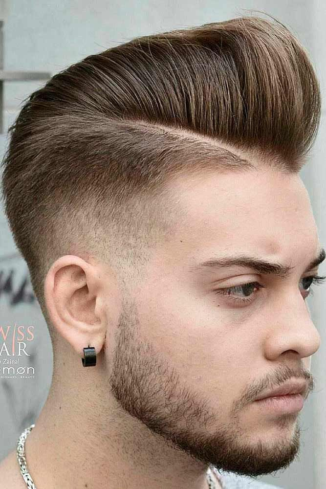 Opt For A Comb Over Haircut To Stay Up To Date Pinterest Low