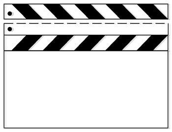 blank clapboard template | nápady, Powerpoint templates