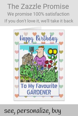 Happy Birthday Gardener Zazzle Com Happy Birthday Happy
