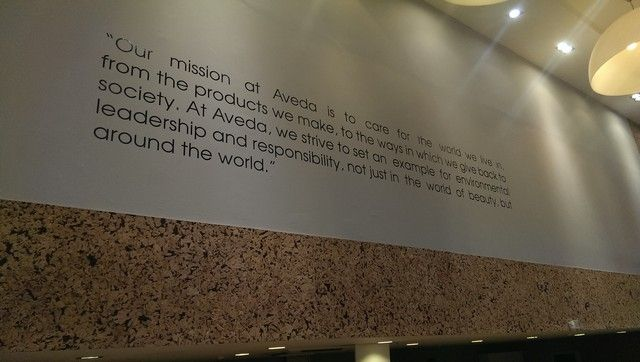 Interior Signage Mission Statements
