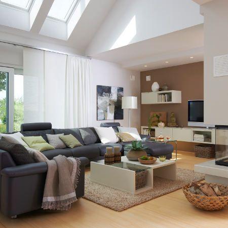 WOHNIDEE-Haus 2011 Die wichtigsten Räume im Überblick - Wohnidee - wohnzimmer offen gestaltet