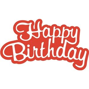 happy birthday word phrase ポップアップカード pinterest