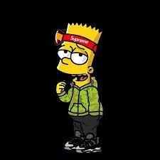 Resultado De Imagen Para Bart Simpson Supreme Scarlxrd In 2019
