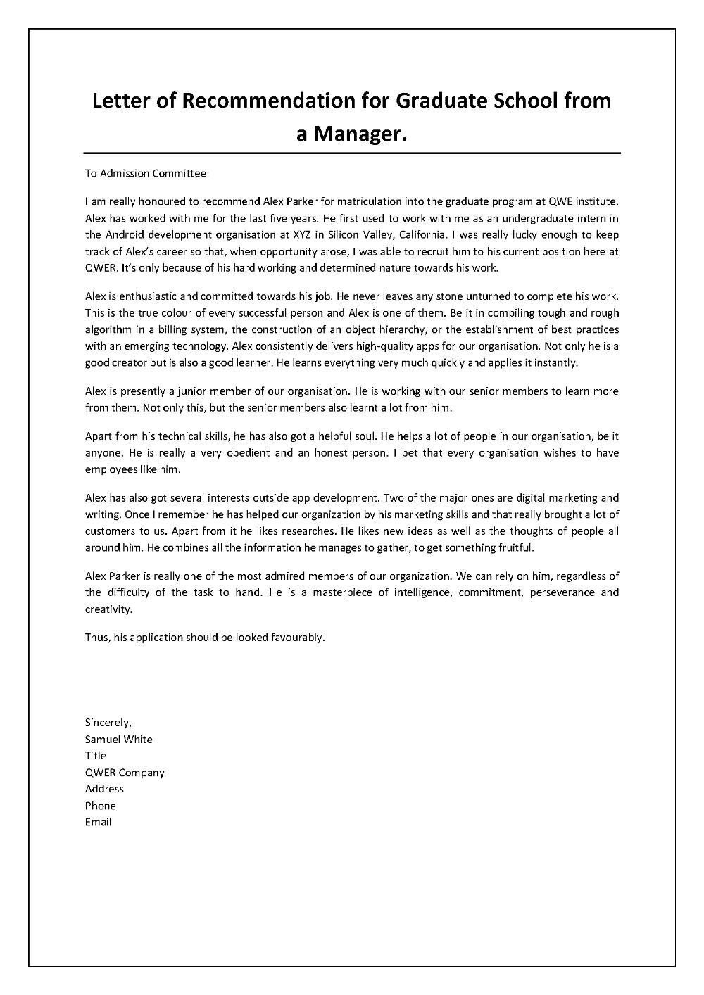 sample letter of reference lor for graduate school professional summary sales manager digital marketing personal statement cv entry level front end developer resume