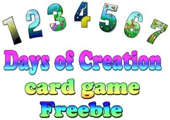 creation card game be the first to lay down one card for each of the