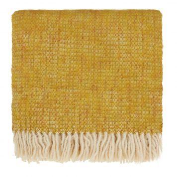 Pin Von Carol Cahill Auf Mustard Yellow Wolldecke Kissen Gelb