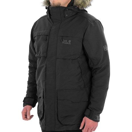 f1c2364e1e6 Jack Wolfskin Cold Harbour Down Parka - 550 Fill Power, 3-in-1 (For Men) in  Black
