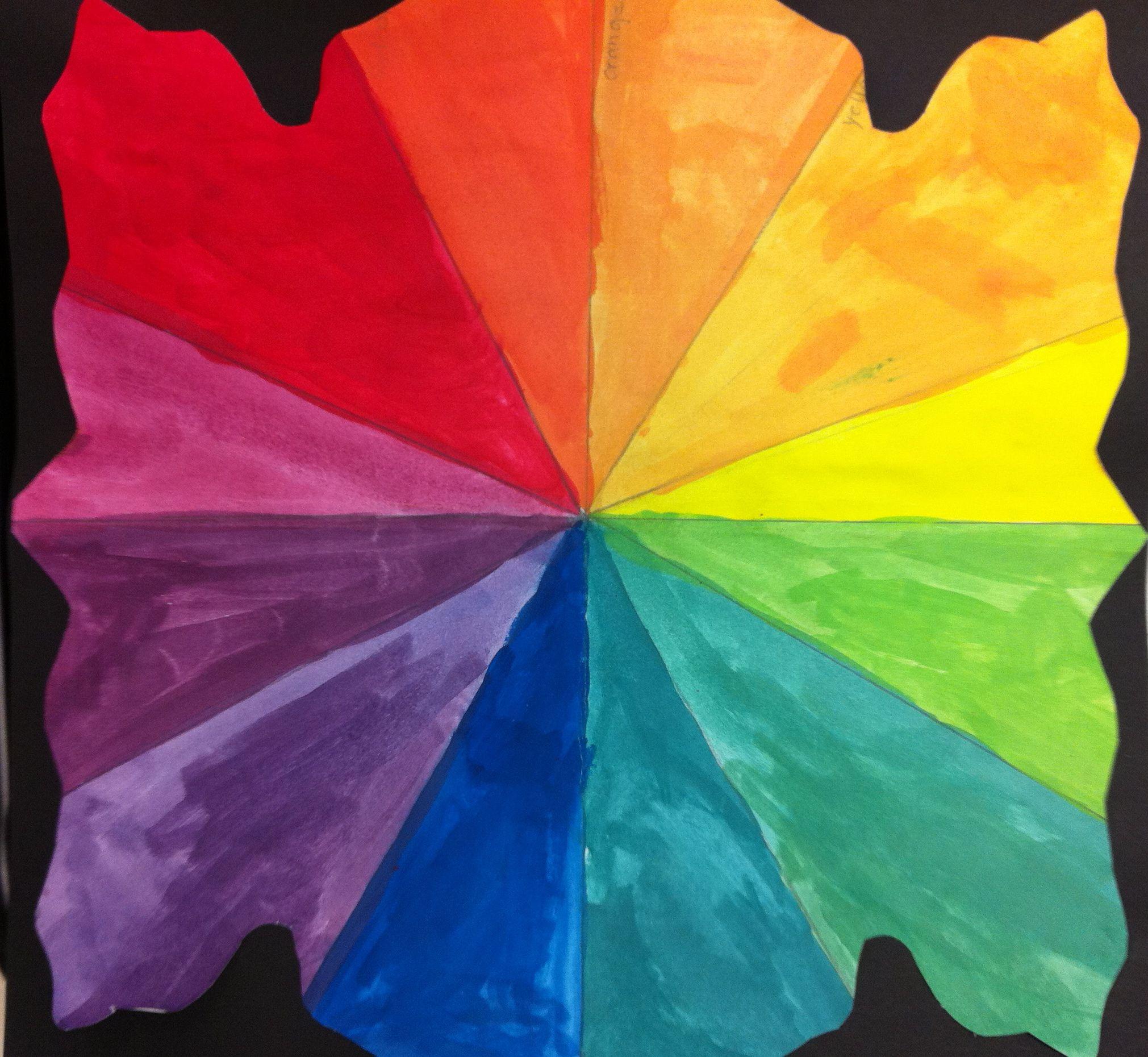 12 Hue Color Wheel Free Lesson Plan Download