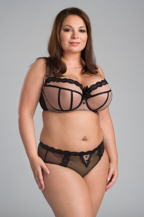 59a8a474f4 And look at that size range. This big-boobed deprived American girl is  drooling. Ewa Michalak SM Nana non-padded plunge bra