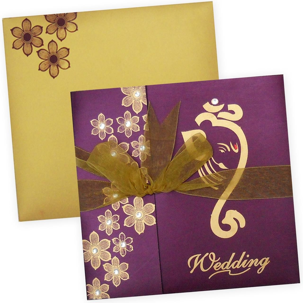 indian wedding card  hindu wedding invitations hindu