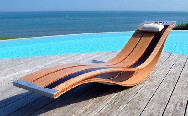 originelle-Lounge-Möbel-für-Draußen-Pool-Designidee garten