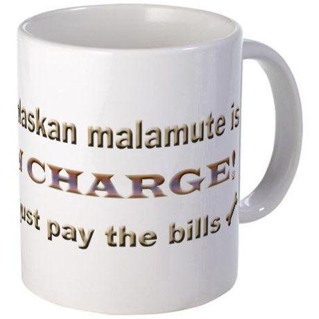 alaskan malamute Mug on CafePress.com