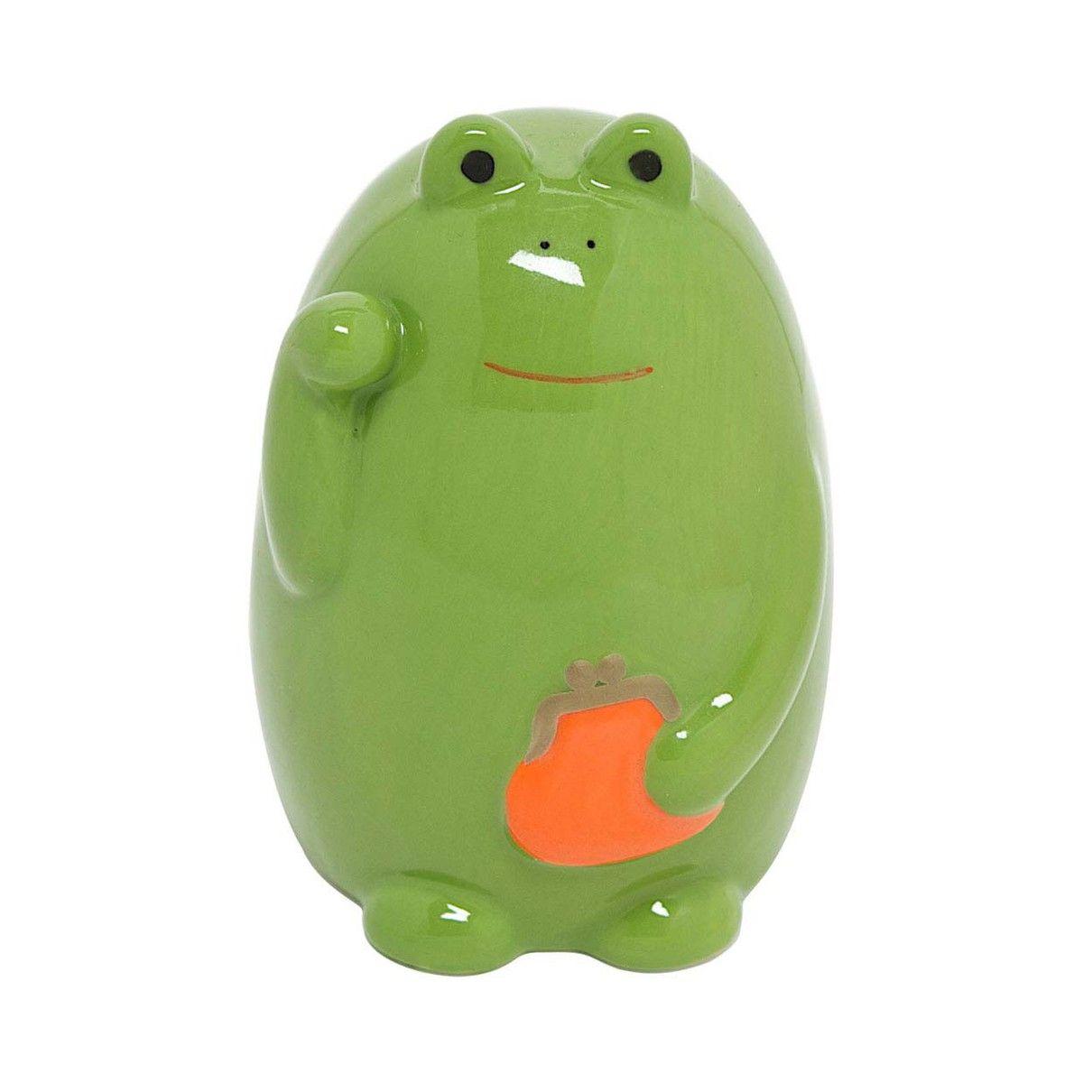 Frog Bank by Miya