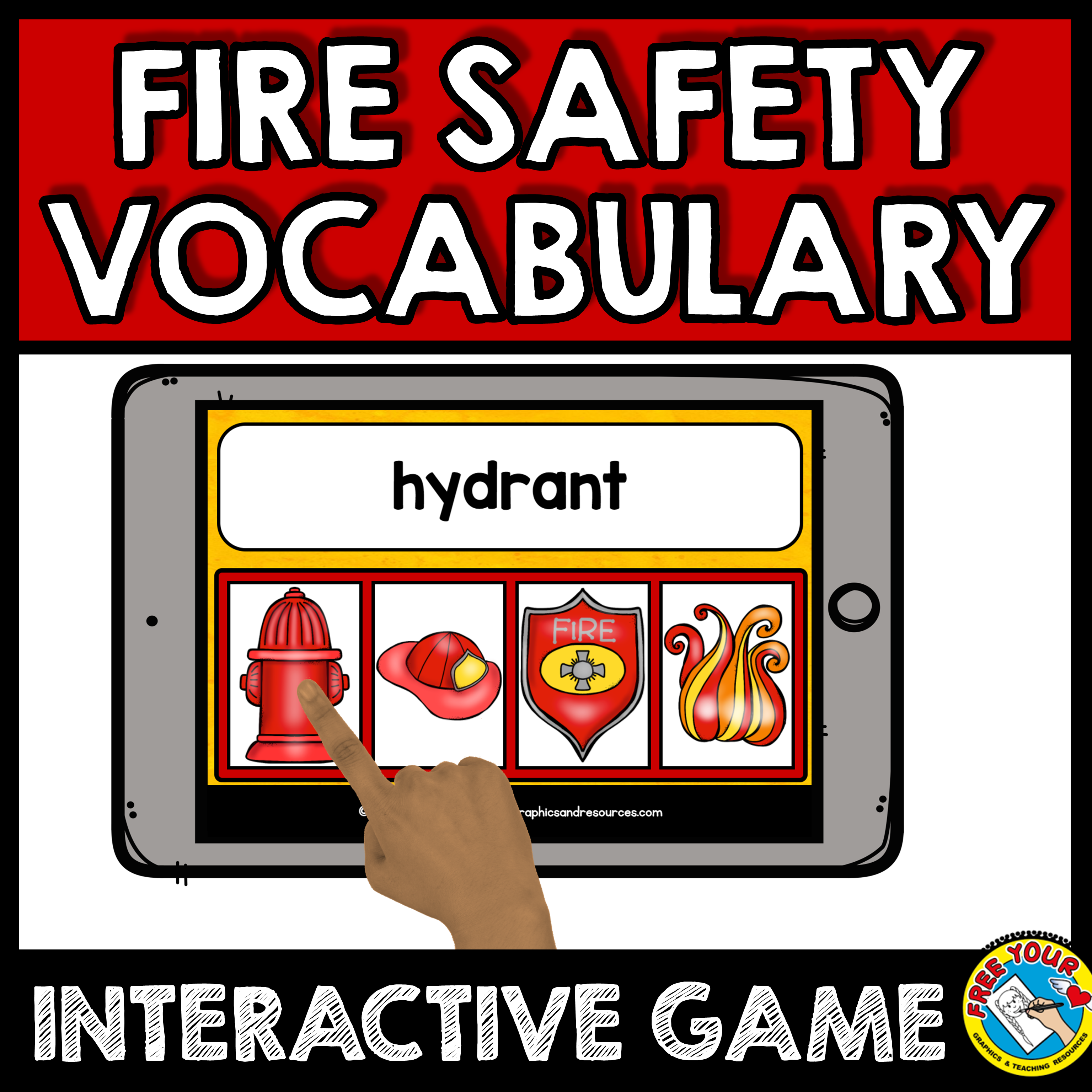 Fire safety activities first grade, kindergarten