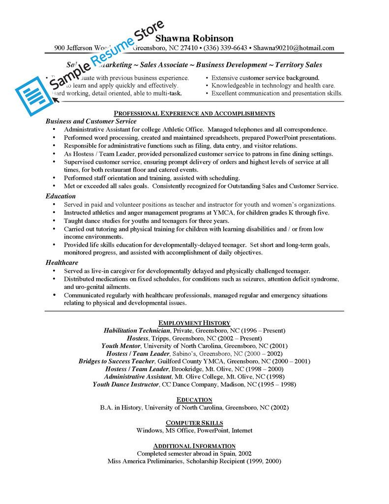Sales Associate Resume Examples - http://www.jobresume.website/sales ...