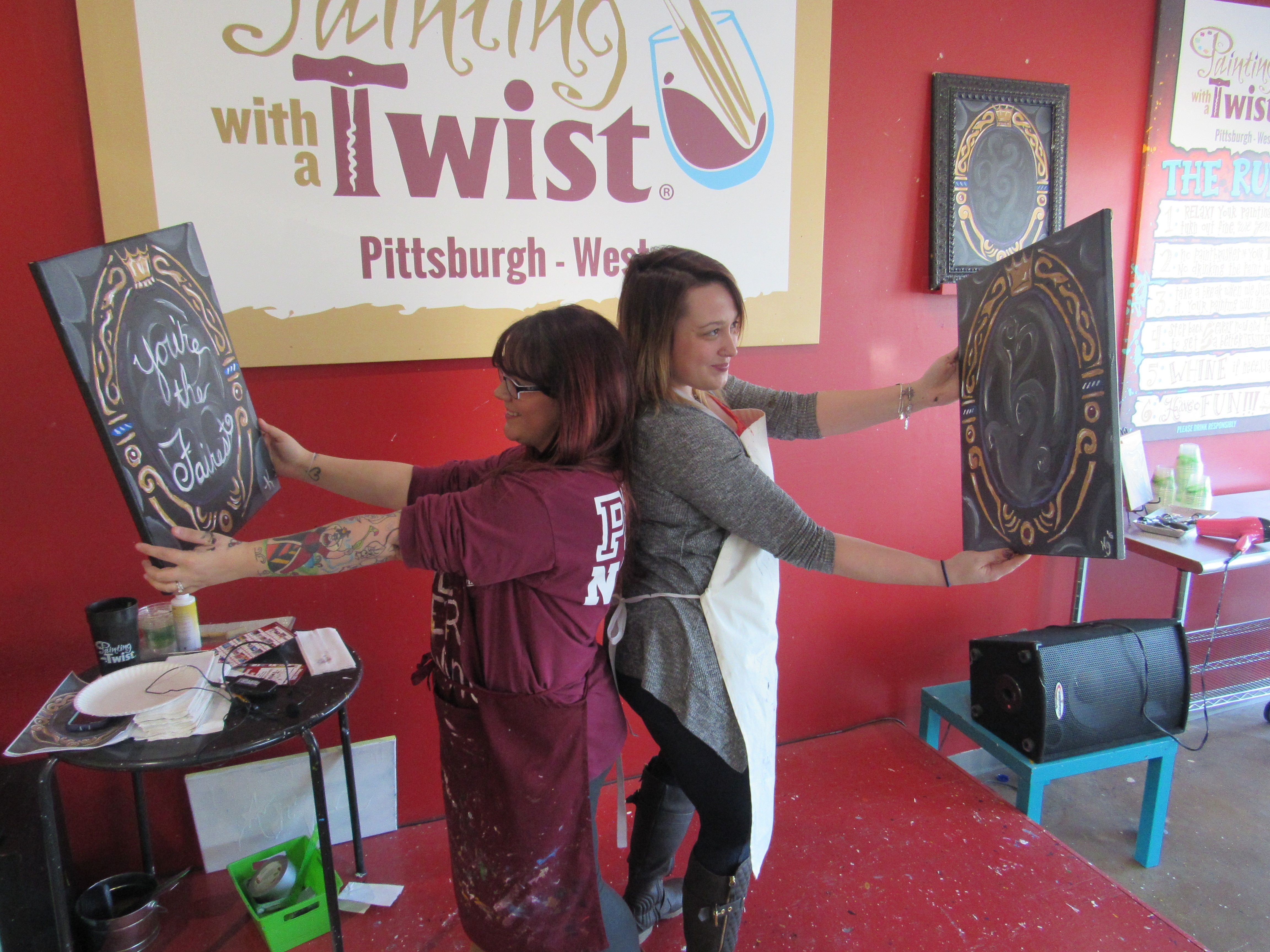Whose Painting Is The Fairest Pittsburgh West Pa Studio Pwat