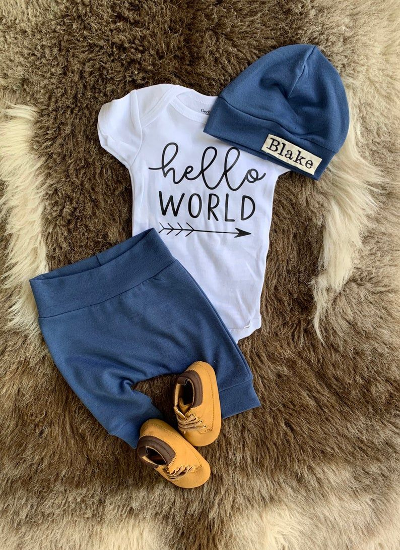 Baby Boy Picture Outfit.Going Home outfit for Boys Newborn  Etsy