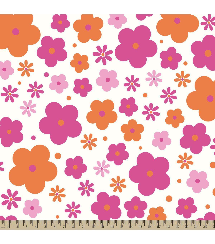 Antipill fleece fabric floral ditzy joann fabric ashus