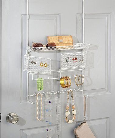Loving this White Classico OvertheDoor Jewelry Accessory