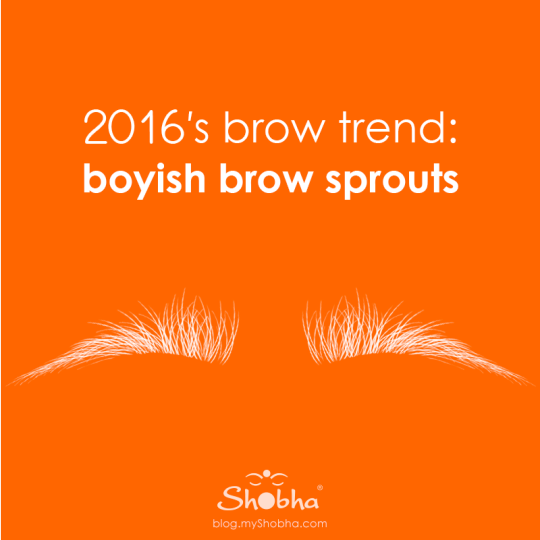 3 easy steps to getting 2016′s brow trend: boyish brow sprouts
