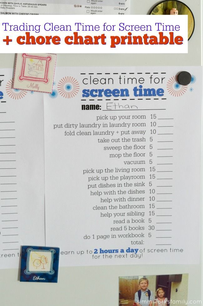 Printable Time Chart Daily Bedtime Checklist Printable Bedtime