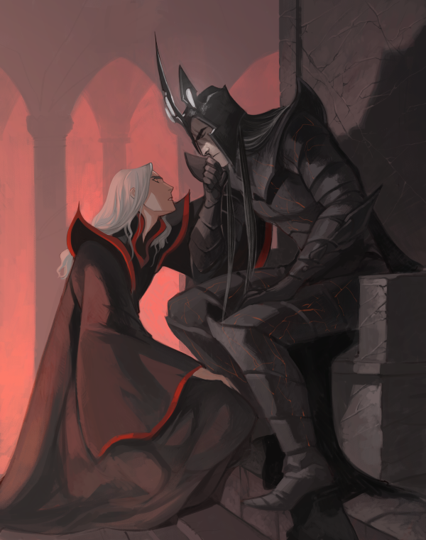 The Silmarillion - Melkor x Sauron - Angbang | Morgoth ...