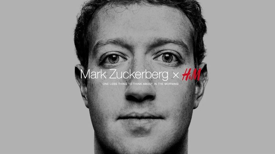 Mark Zuckerberg per H&M