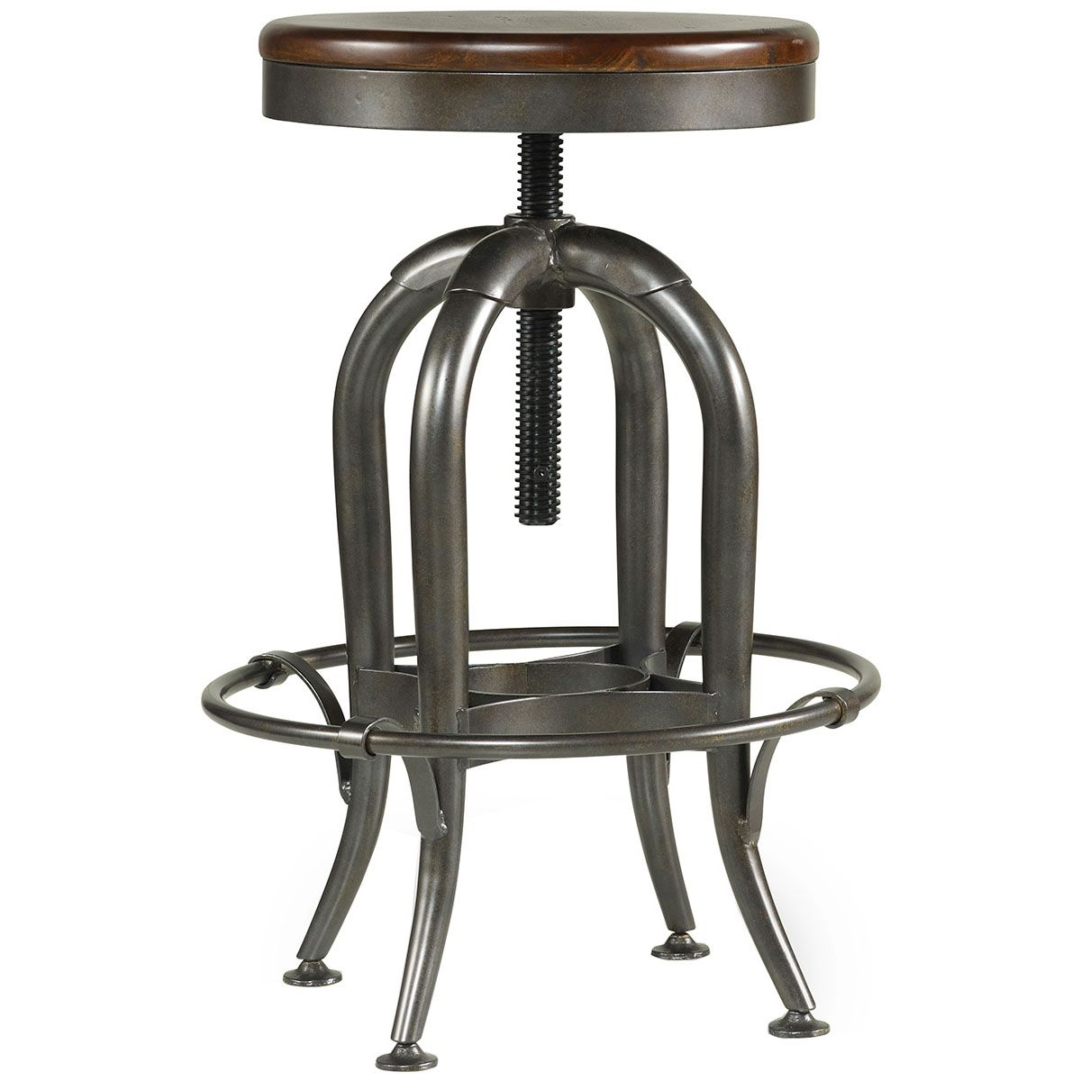 Excellent Hooker Furniture Wendover Adjustable Height Stool 1037 31455 Ncnpc Chair Design For Home Ncnpcorg