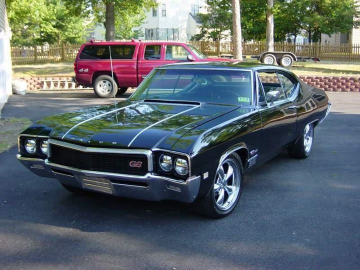 1968 Buick Gs 400 Buick Gs Buick Classic Cars Muscle