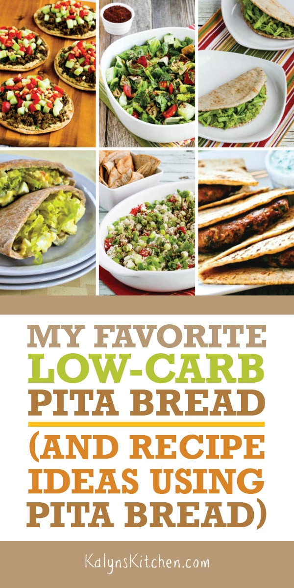 Sometimes You Just Want Something Stuffed Into Pita Bread For A Quick Lunch Or Dinner That S When I Grab My Favorite Lo Pita Bread Low Carb Pita Bread Recipes