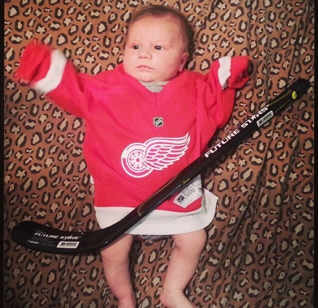 future hockey player forsure!