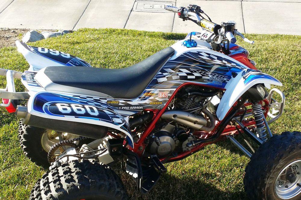 Suzuki Ltr Quadzilla Decal