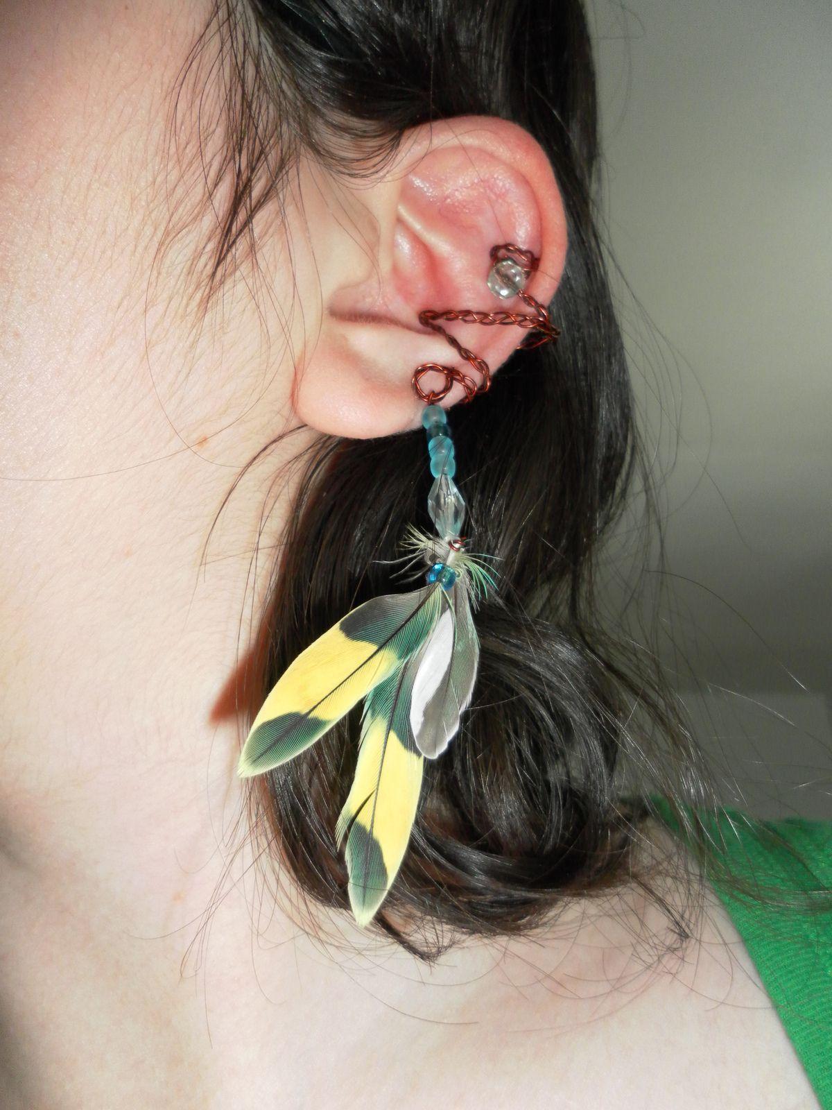 Ear Cuff Ear, Cuff earrings, Diy jewelry