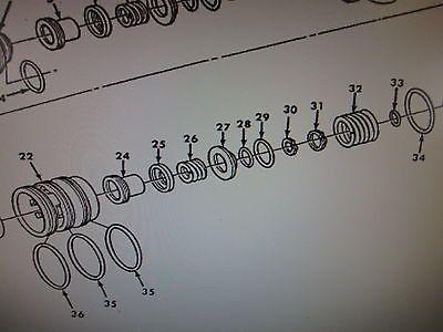1 M939 ENGINE TREADLE POPPET VALVE 7022-26 NOS