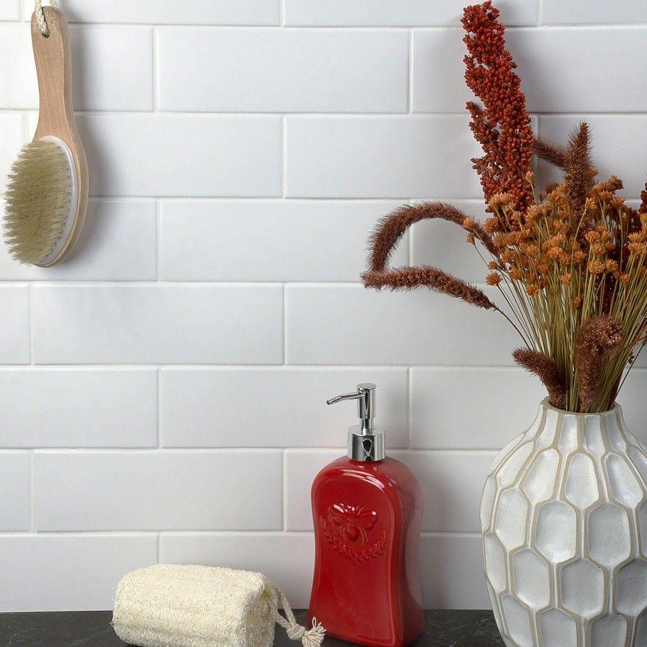 London White 3x9 Ceramic Tile With Images Ceramic