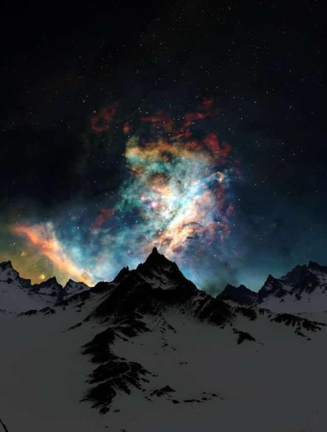 Los increíbles colores del cielo ...