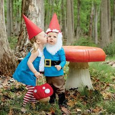 Gnomes Halloween costumes for kids, Gymboree #gnomecostume