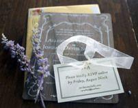 Wooden Wedding Invitations - Jordan and Alli