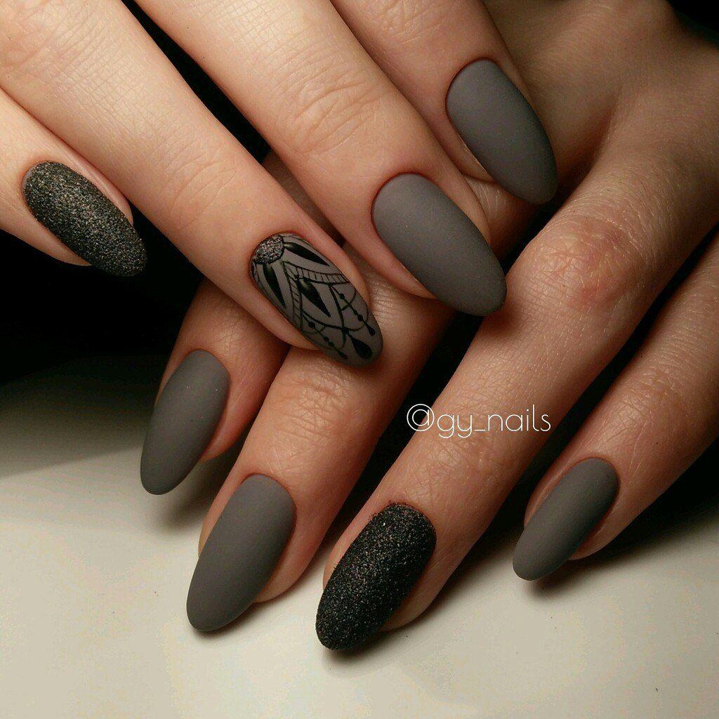 Pin de XXX en manicures   Pinterest   Diseños de uñas, Uñas mate y ...