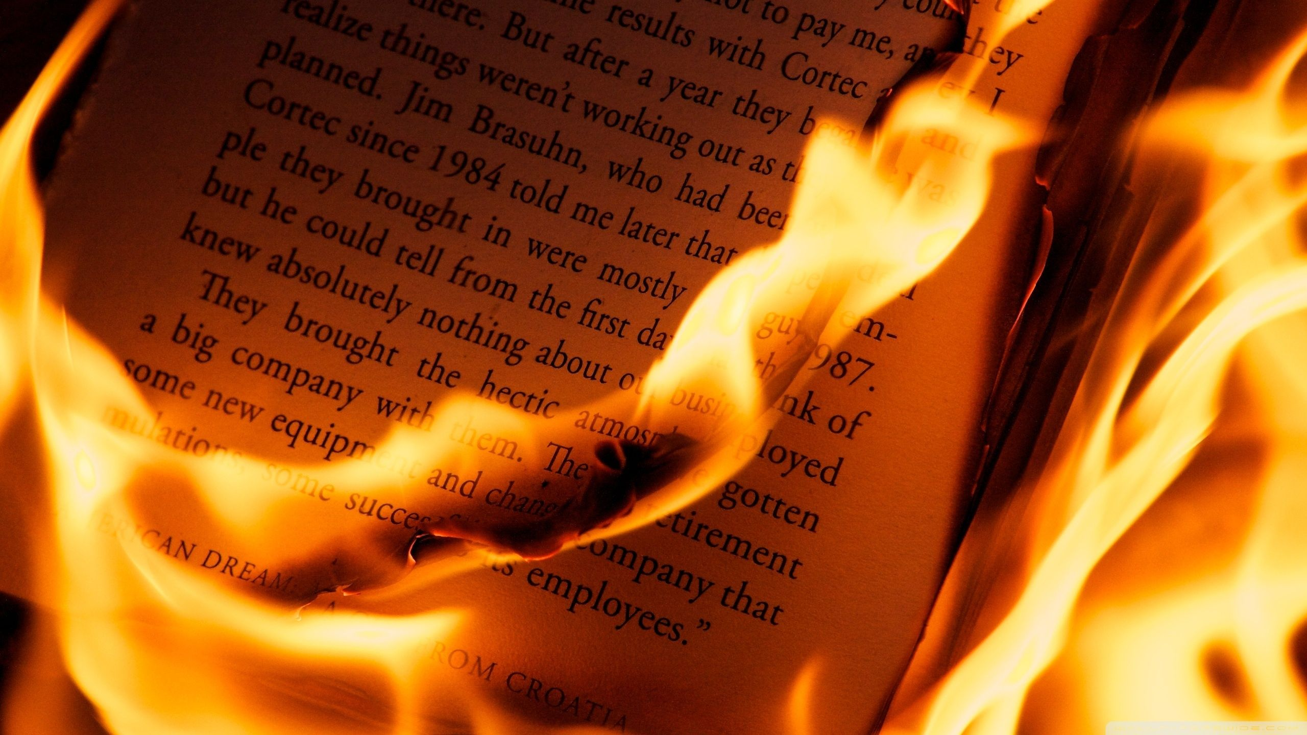 Burning Book Book Wallpaper Letter Photography Fire Photography