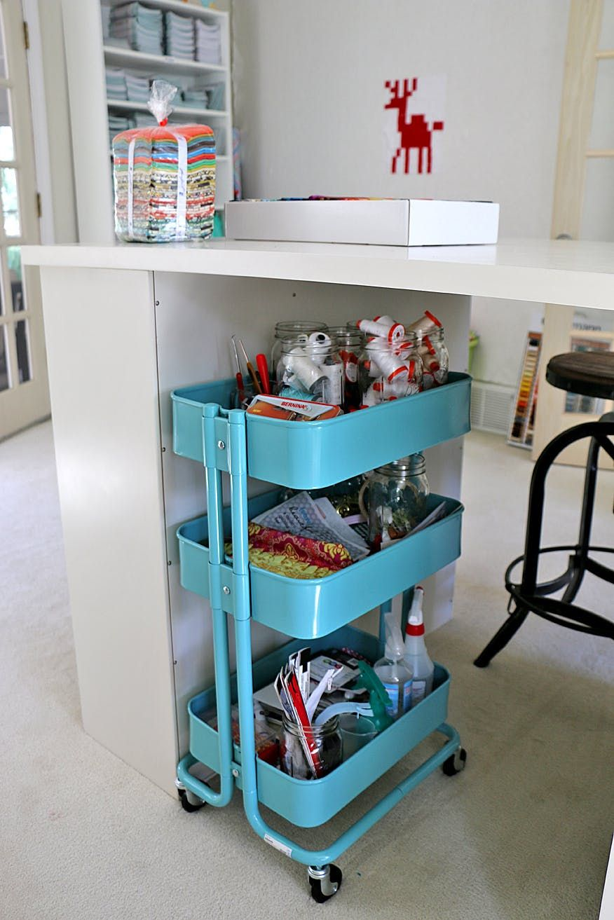 SUNNERSTA Kitchen Cart Hack Ideas and DIY Projects | Kitchen carts ...