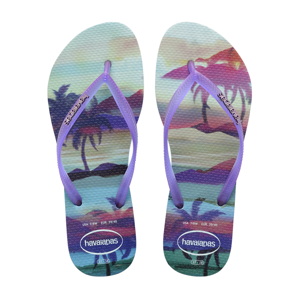 Explore Flip Flops, Summer Festivals, and more! New Arrivals :: SLIM PAISAGE  - ICE BLUE - Havaianas Canada