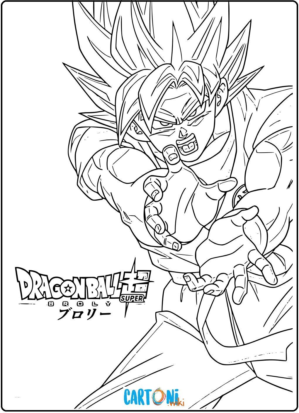 Colora Dragon Ball Super Broly E Scopri Tante Altre Immagini E