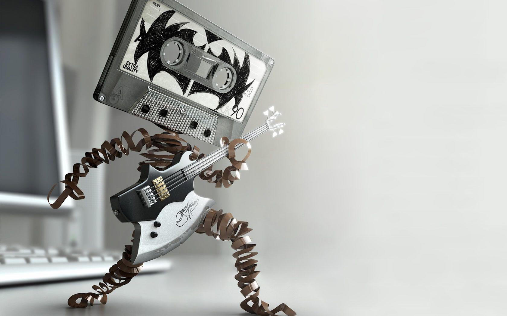 Rock on Tape Cassette