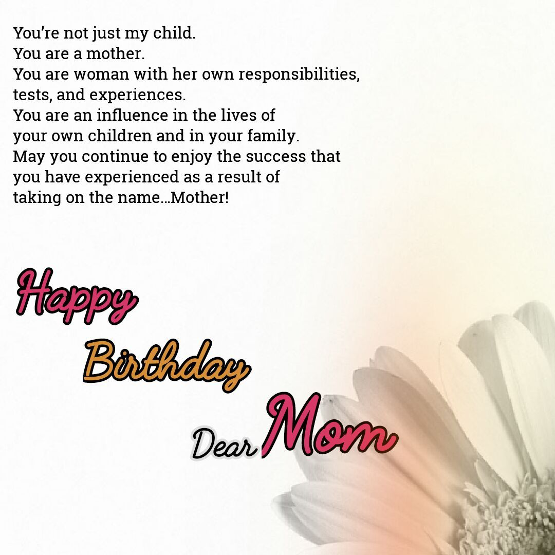 Best 70+ Birthday Wishes for Mom Birthday wishes for mom