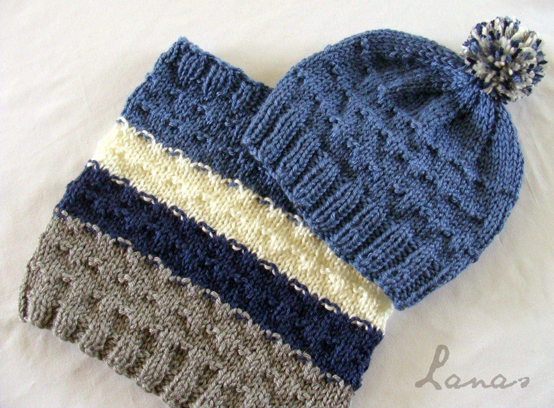 Lanas de Ana: Hat & Cowl for a Boy | ganchillo | Pinterest | Gorros ...