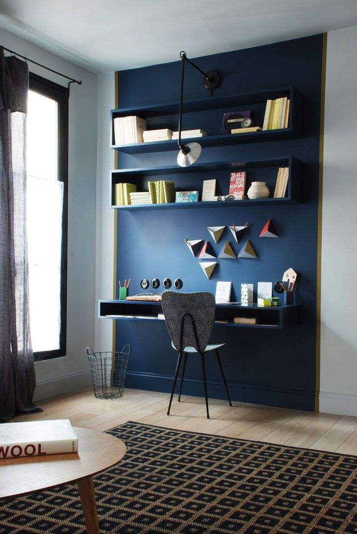 Beautiful French interiors by Marianne Evennou | Working areas at ...