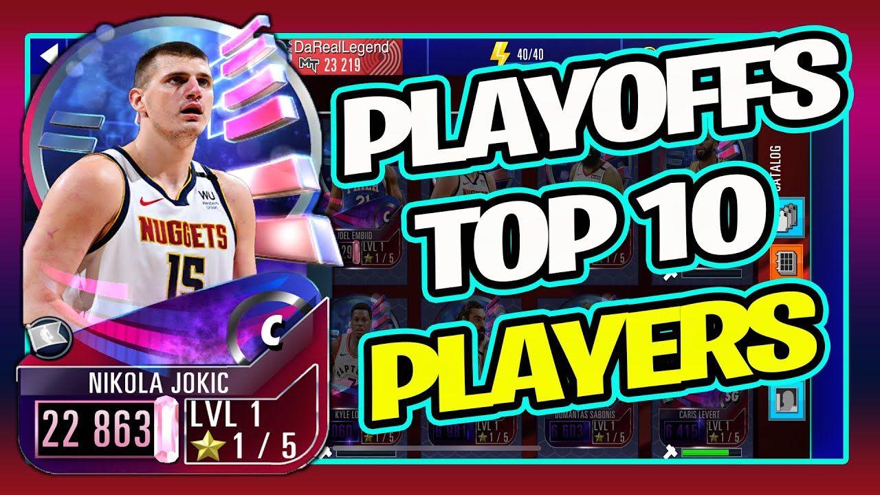 NBA 2K Mobile Playoffs Players : Top 10 & Best Team   Gauntlet News