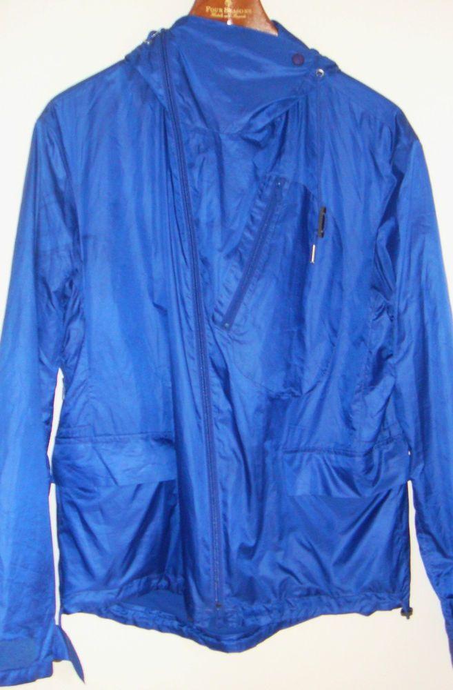 5f54bd34add45 Y-3 Yohji Yamamoto Mens Medium Royal Blue Hooded Track Jacket Adidas M Y3   AdidasY3  CoatsJackets